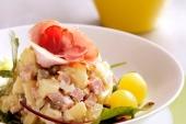 Zalm saladeschotel