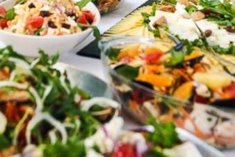 Koud en warm buffet Keuze nr. 2 incl drie soorten warm