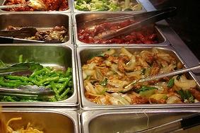 Koud en warm buffet Keuze nr. 2 incl twee soorten warm