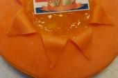 Oranje vlaai 5 pers.