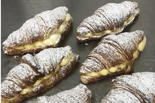 Pudding croissant