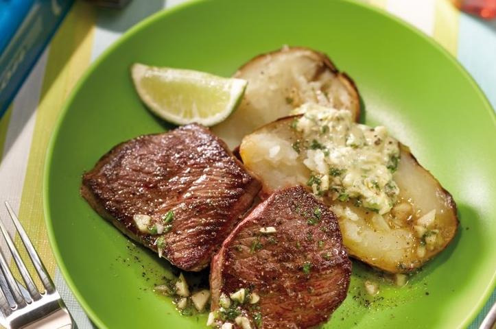 Argentina black angus grill steak