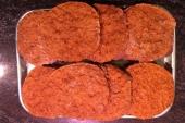 Gegrilde BBQ burgers