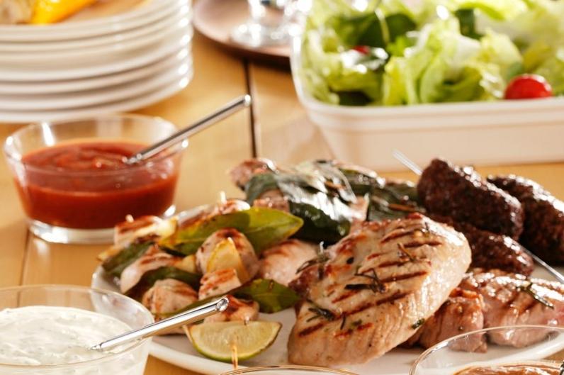 BBQ Clubmenu (3 stuks vlees p.p.)