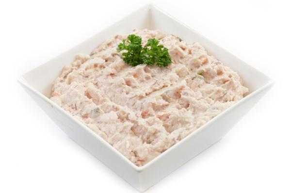 Vlees salade