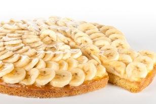 Bananenvlaai
