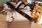 Herfst chocolade 250 gram in cadeau verpakking