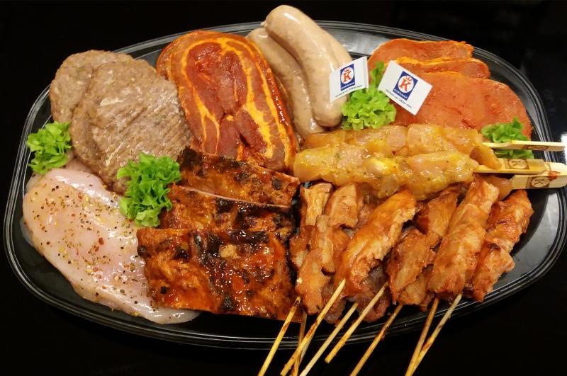 """Barbecue pakket """"club"""" (vanaf 15 personen)"""