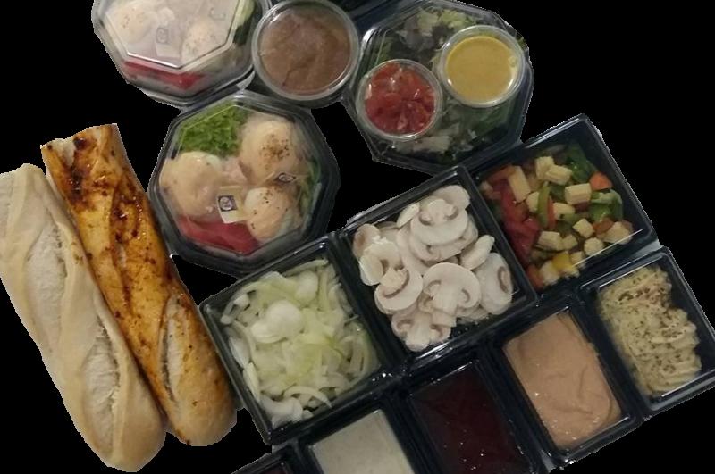 Ter uitbreiding van gourmet standaard (vanaf 4 personen)