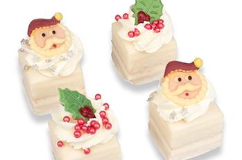 Kerst petitfour