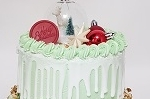 Kerst dripcake 15 pers.