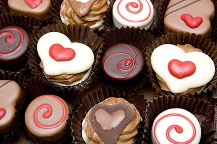 Valentijnsbonbons