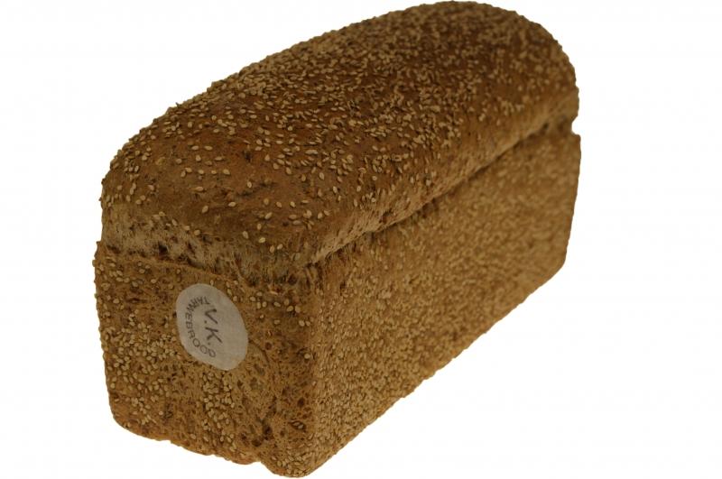 Volkorenbrood grof sesam