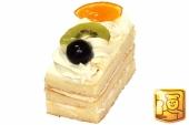 slagroom cake taartje