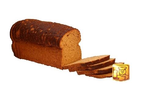 spelt brood half (ongesneden)